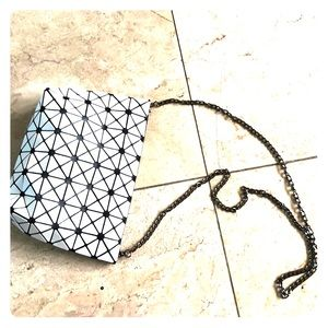 Handbags - Like new cross body clutch or shoulder white bag🥰